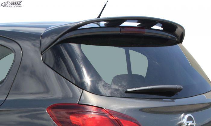 Rdx Vauxhall Corsa E 14 Pur Plastic 5 Door Opc Look Roof Spoiler Car Web Shop